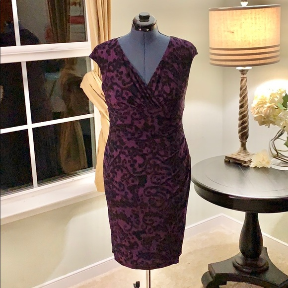 Ralph Lauren Dresses & Skirts - Ralph Lauren Pull On Fitted Dress Size 10